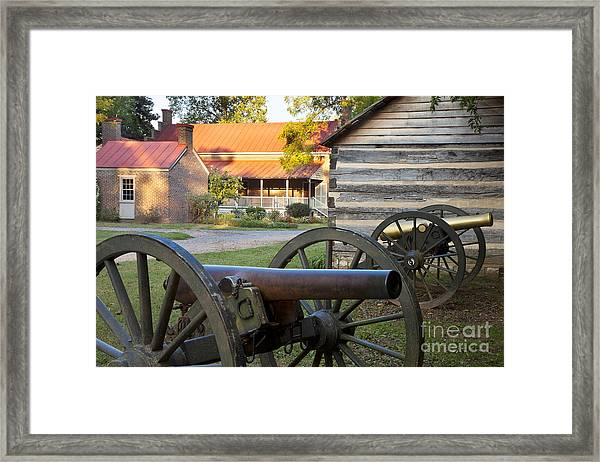 Framed Print featuring the photograph Battle Of Franklin by Brian Jannsen