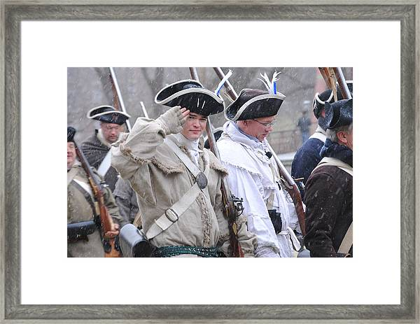 Battle Of Trenton Framed Print