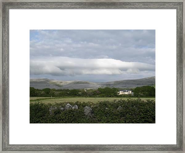 Baughlyvann Clouds Framed Print
