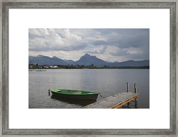 Bavarian Lake Framed Print