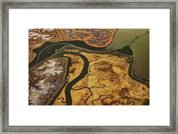 Bay Flats Framed Print