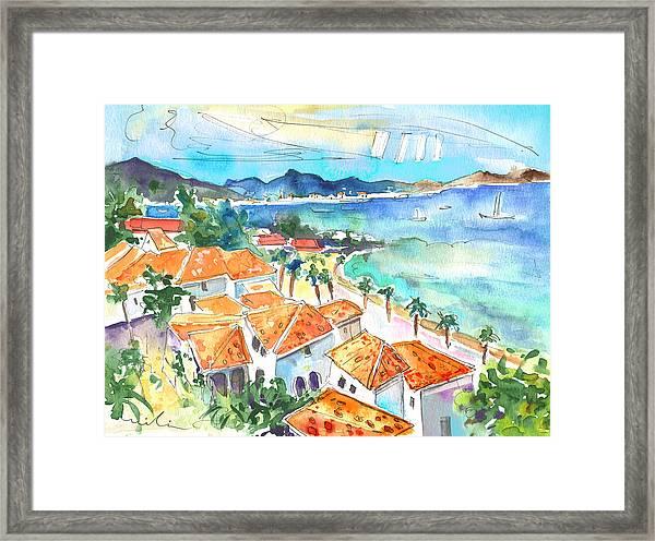 Bay Of Saint Martin Framed Print