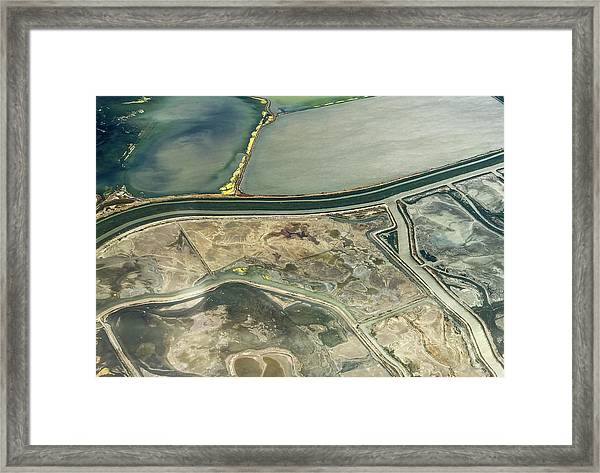 Bay Salt 2 Framed Print
