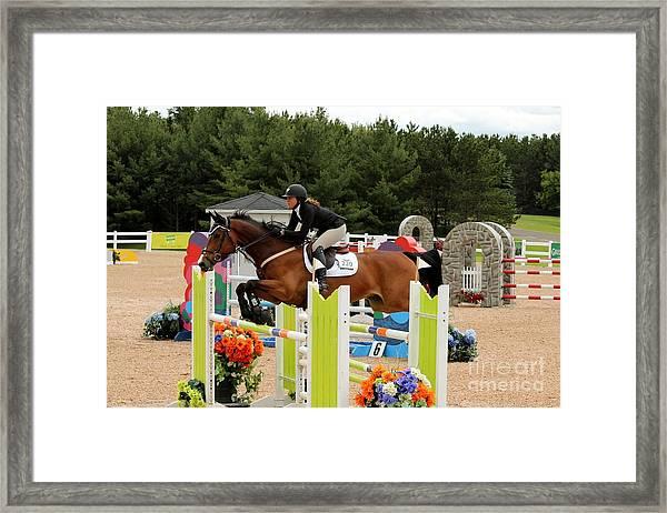 Bay Show Jumper Framed Print