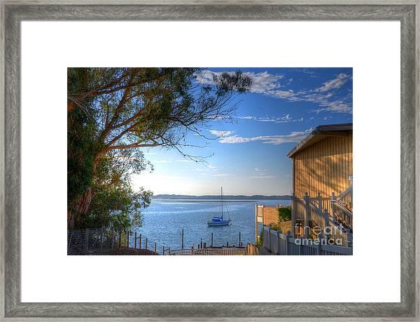 Bay View Day Framed Print