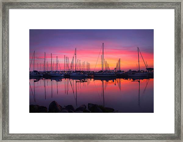 Bayfield Wisconsin Magical Morning Sunrise Framed Print