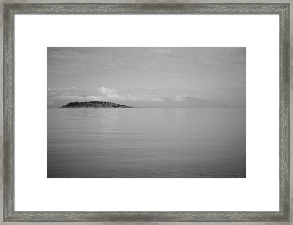 Be Still My Ocean  Framed Print