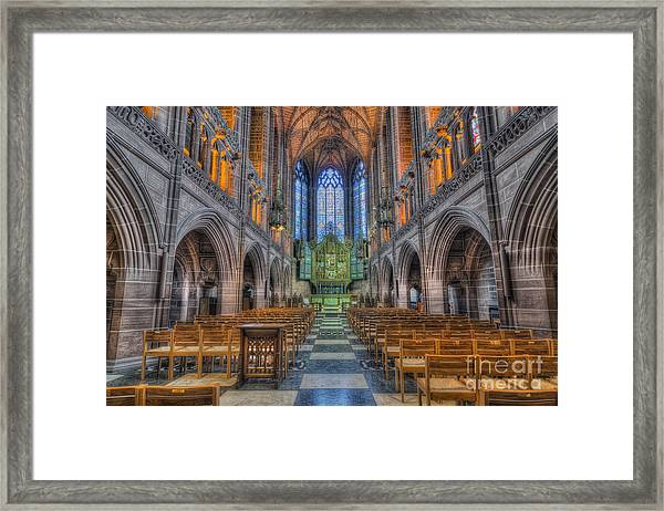 Be Strong Beautiful Framed Print