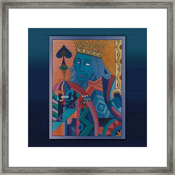Be The King In Your Movie Framed Print