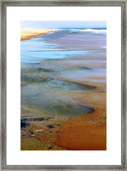 Beach Colors Framed Print
