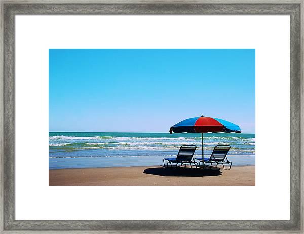 Beach Dreams Framed Print