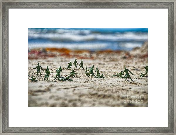 Beach Head Framed Print
