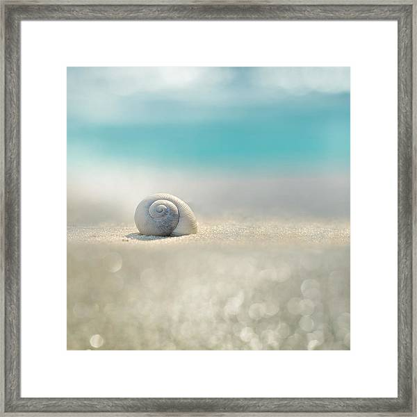 Beach House Framed Print