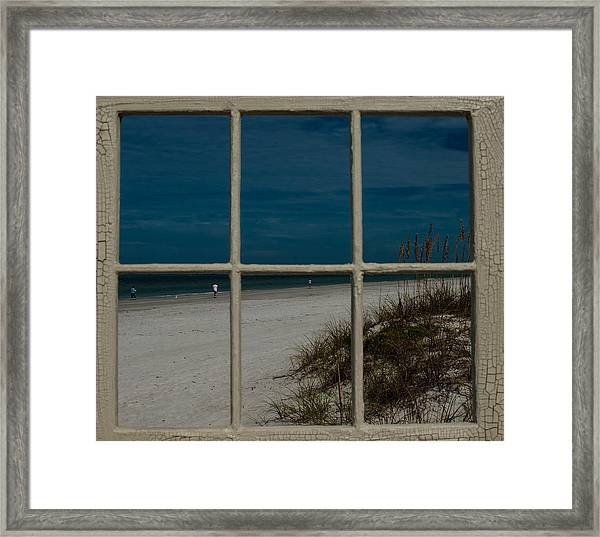Beach Lookout Framed Print
