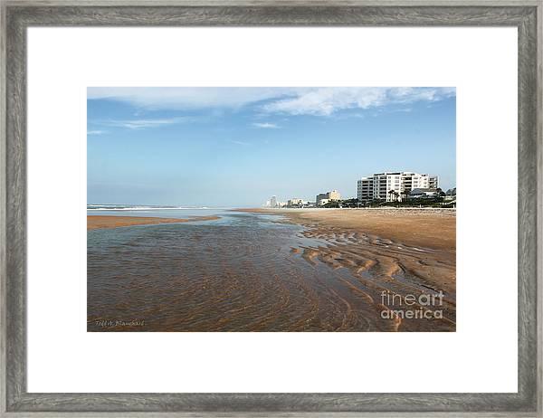 Beach Vista Framed Print