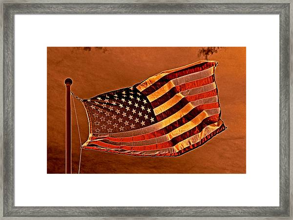 Beacon For Courage And Peace 2013 Framed Print