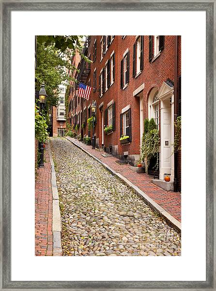 Framed Print featuring the photograph Beacon Hill by Brian Jannsen