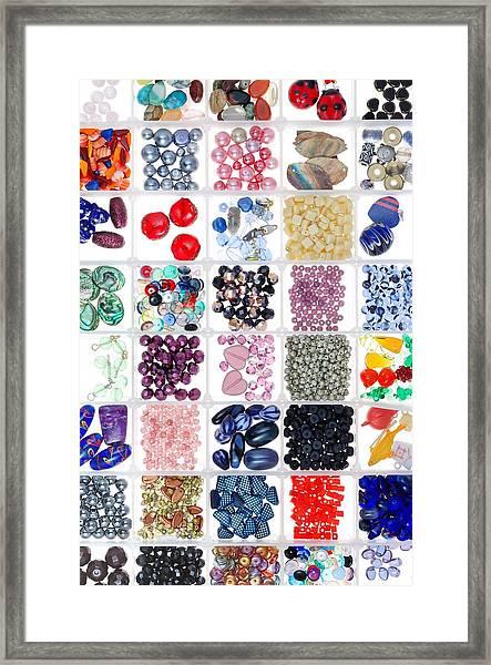 Bead Box Framed Print