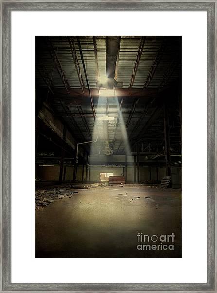 Beam Me Up Framed Print