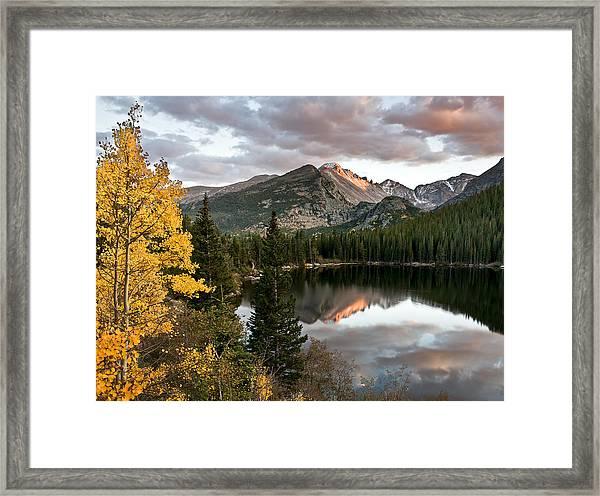 Bear Lake Sunset Framed Print by Robert Yone