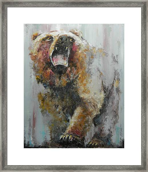 Bear Market Framed Print
