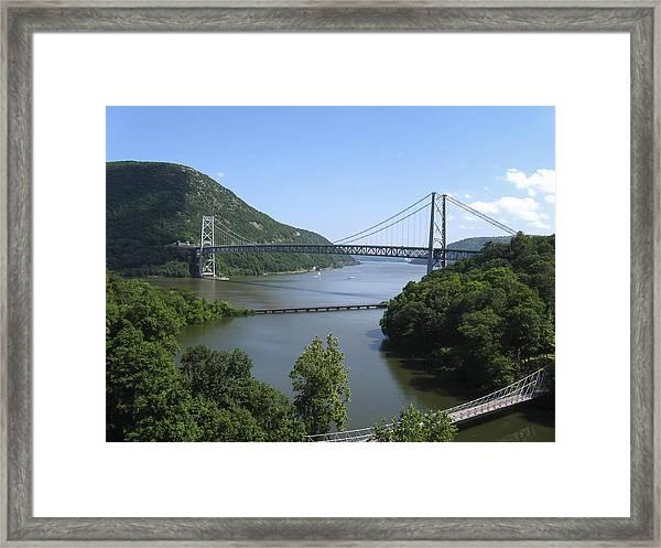 Bear Mountain Bridge, New York Framed Print