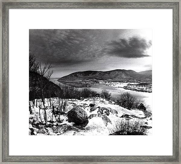 Bear Mountain  New York Framed Print
