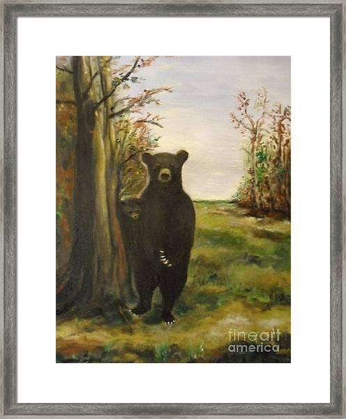 Bear Necessity Framed Print