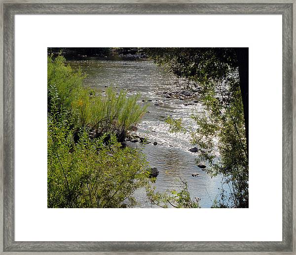 Framed Print featuring the photograph Bear River Beauty by William Havle