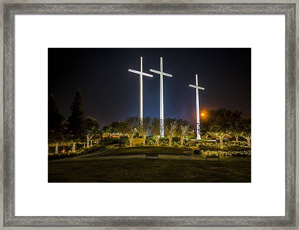 Bearing Witness Framed Print