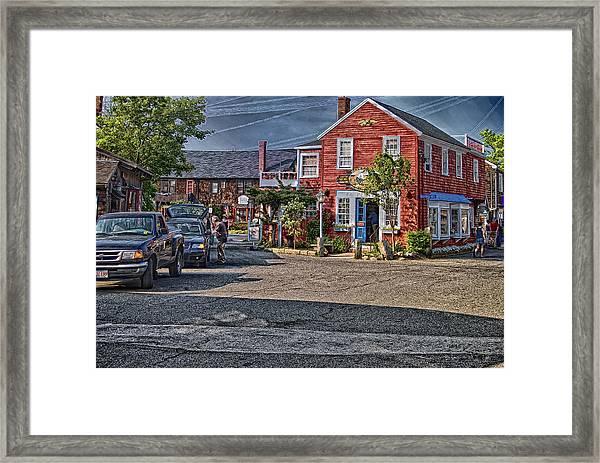Bearskin Neck Framed Print