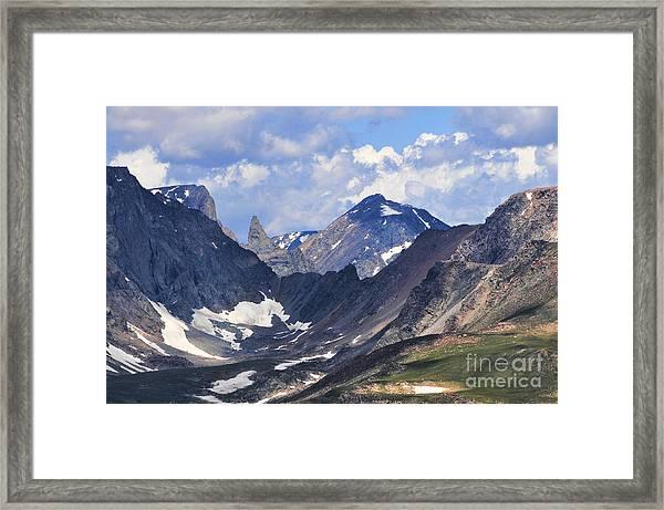 Beartooth Mountain Framed Print