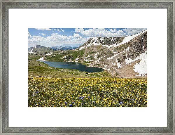 Beartooth Splendor  Framed Print