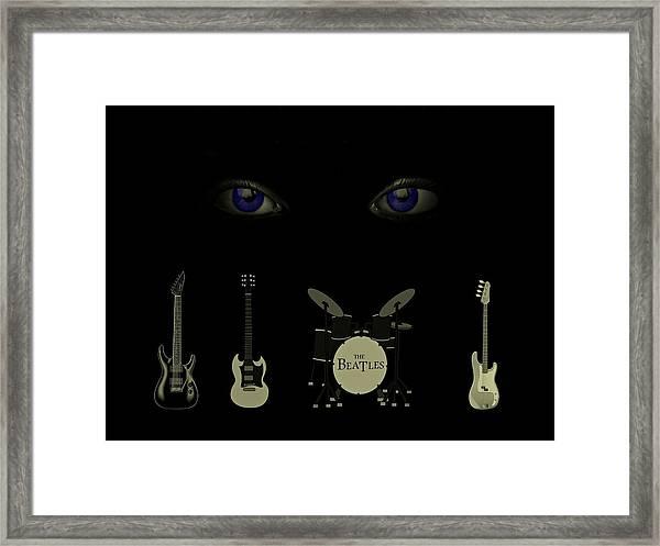 Beatles Something Framed Print