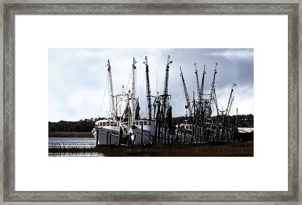 Beaufort Fleet Framed Print