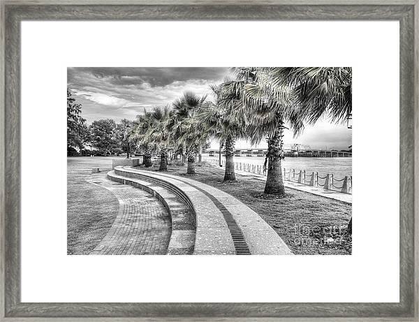 Beaufort Sc Water Front Park Framed Print