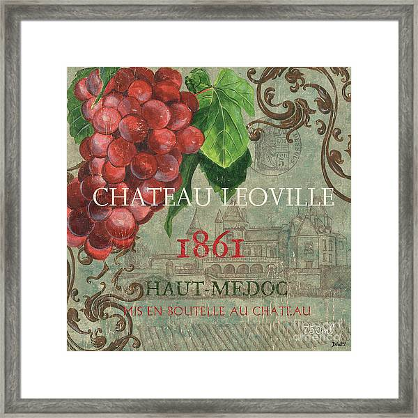 Beaujolais Nouveau 1 Framed Print