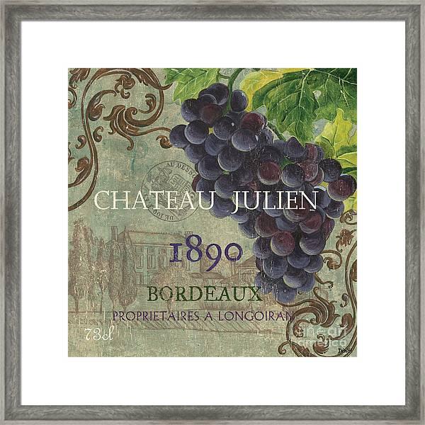 Beaujolais Nouveau 2 Framed Print
