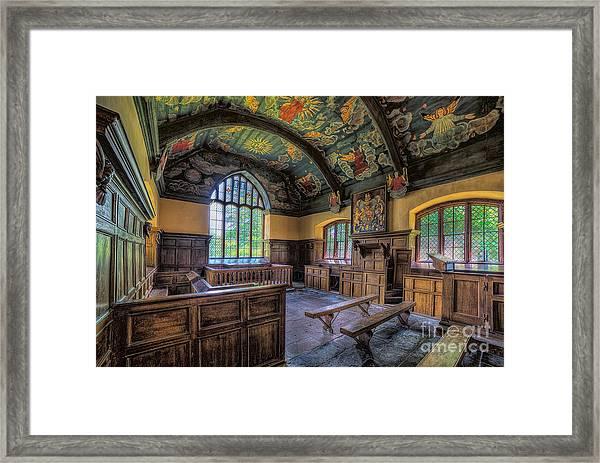Beautiful 17th Century Chapel Framed Print