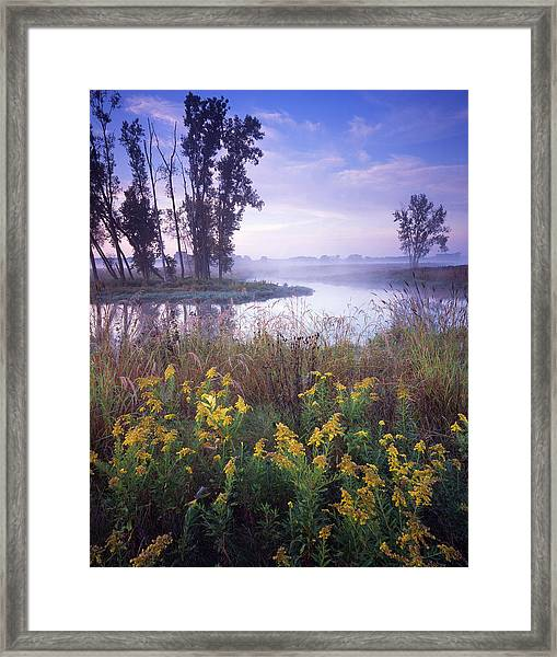 Beautiful Bend Framed Print