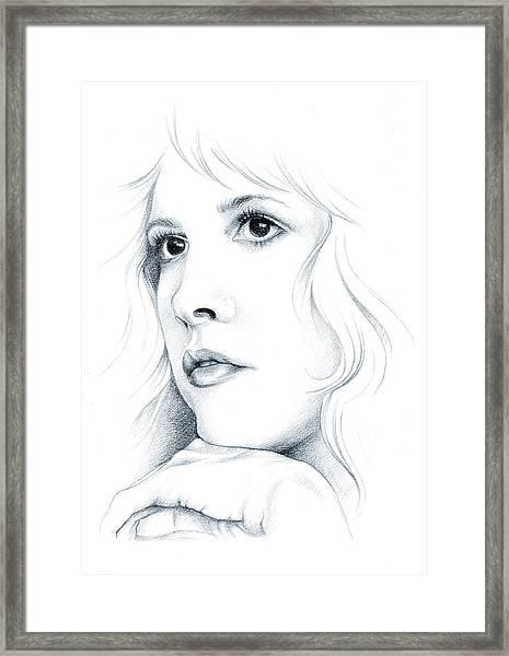 Beautiful Child Framed Print