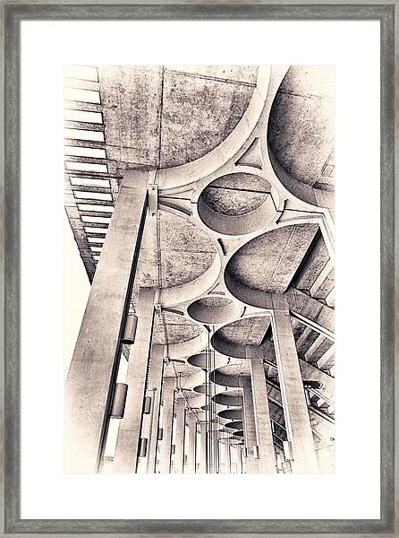 Beautiful Concrete Framed Print