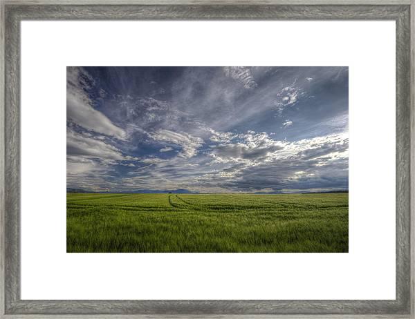 Beautiful Countryside Framed Print