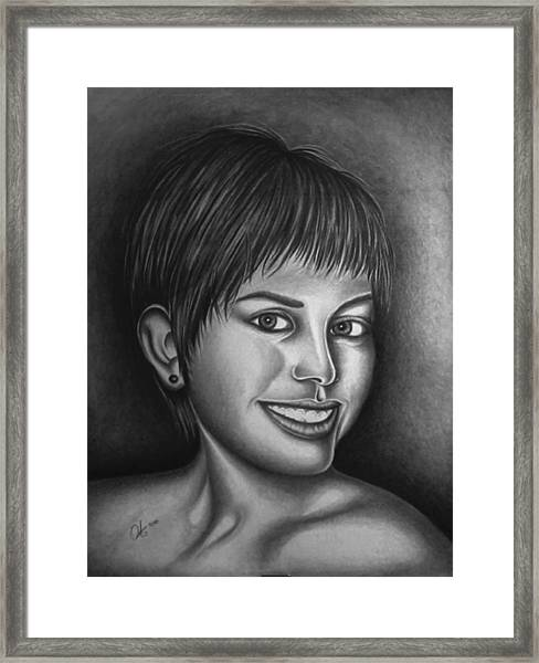 Beautiful Girl  Framed Print