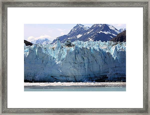 Beautiful Glacier Bay Framed Print by Sophie Vigneault