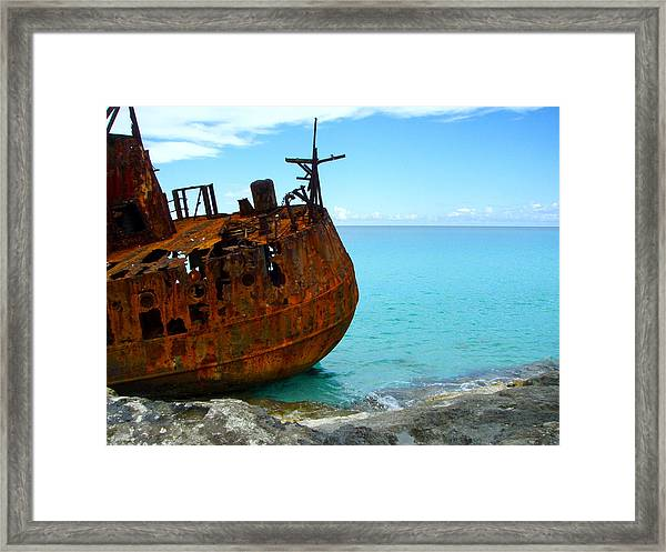 Beautiful Junk Framed Print