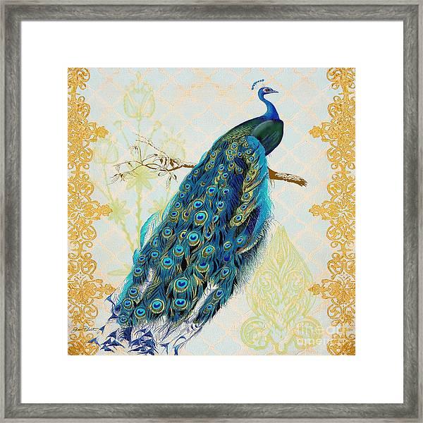 Beautiful Peacock-a Framed Print