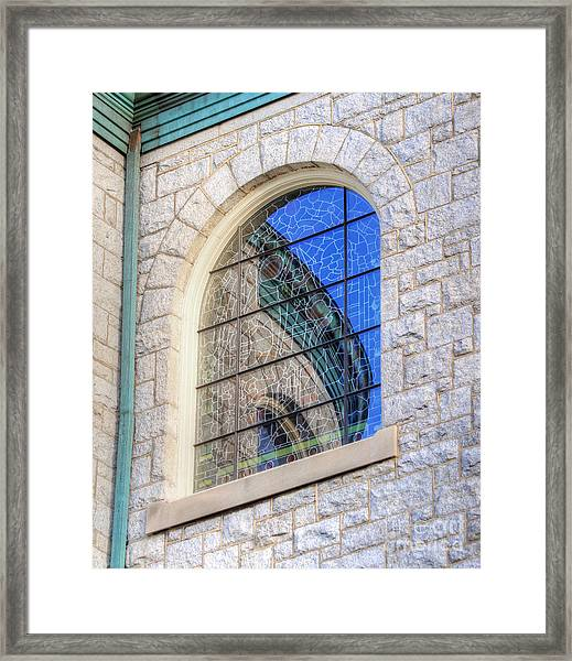 Beautiful Reflection Framed Print