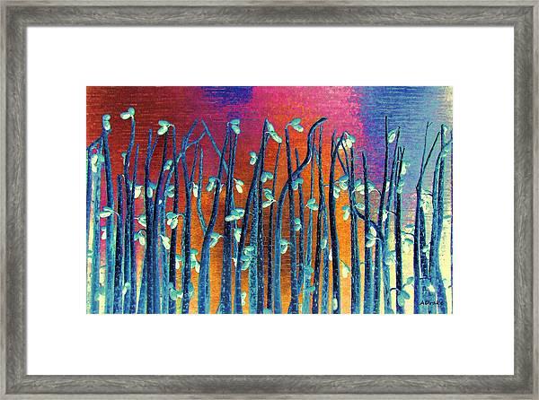 Beautiful Weeds On Venus Framed Print
