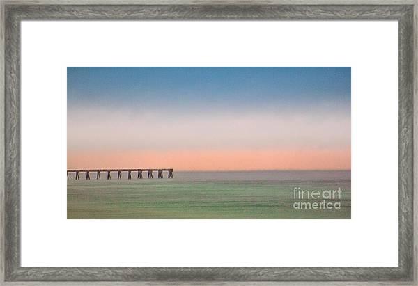 Beauty At The Beach Framed Print